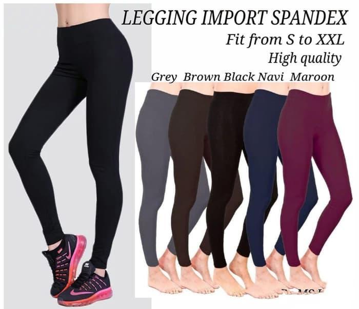 Celana Legging Wanita Lejing Polos Panjang Resyah Fashion Shop Lazada Indonesia