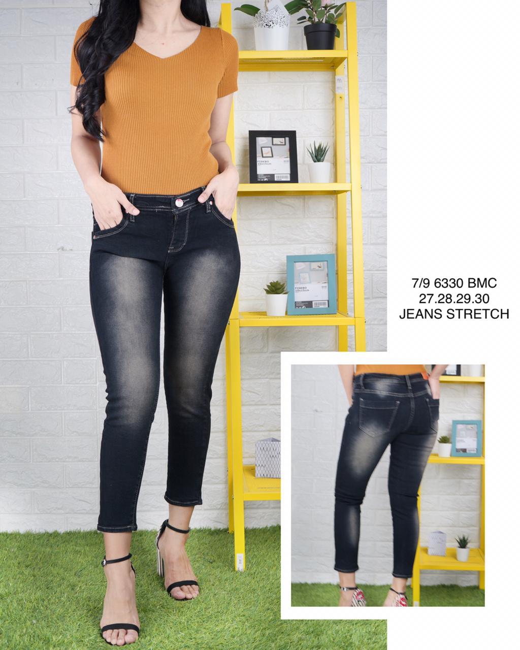 Celana Jeans Wanita Celana Jeans Wanita Tulang 7 9 Celana Jeans Model Terbaru Celana Pensil Wanita Kekinian Lazada Indonesia