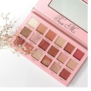Beauty Creations Tease me 18 Color Shimmering Matte Land Color Red Eyeshadow Palette Pigment Beautiful Pigmented thumbnail