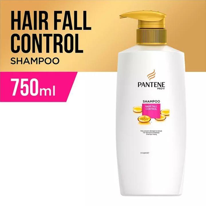 Pantene Shampo Hairfall Control - 750ml By Lazada Retail Pantene.