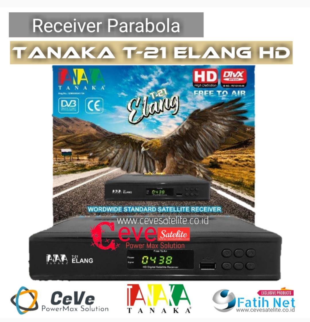 Receiver Parabola T21 Tanaka T-21 Elang By Fatih Net.