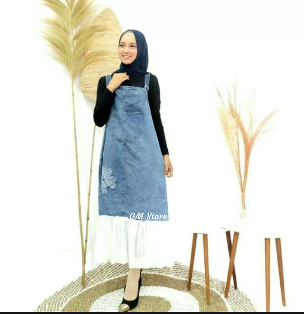KTC OVERALL// OVERALL BAHAN JEANS// OVERALL LARISSS