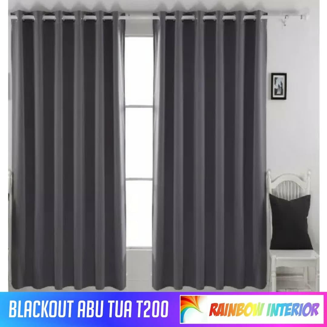 Rainbow Gorden/ Gordyn Blackout T200cm