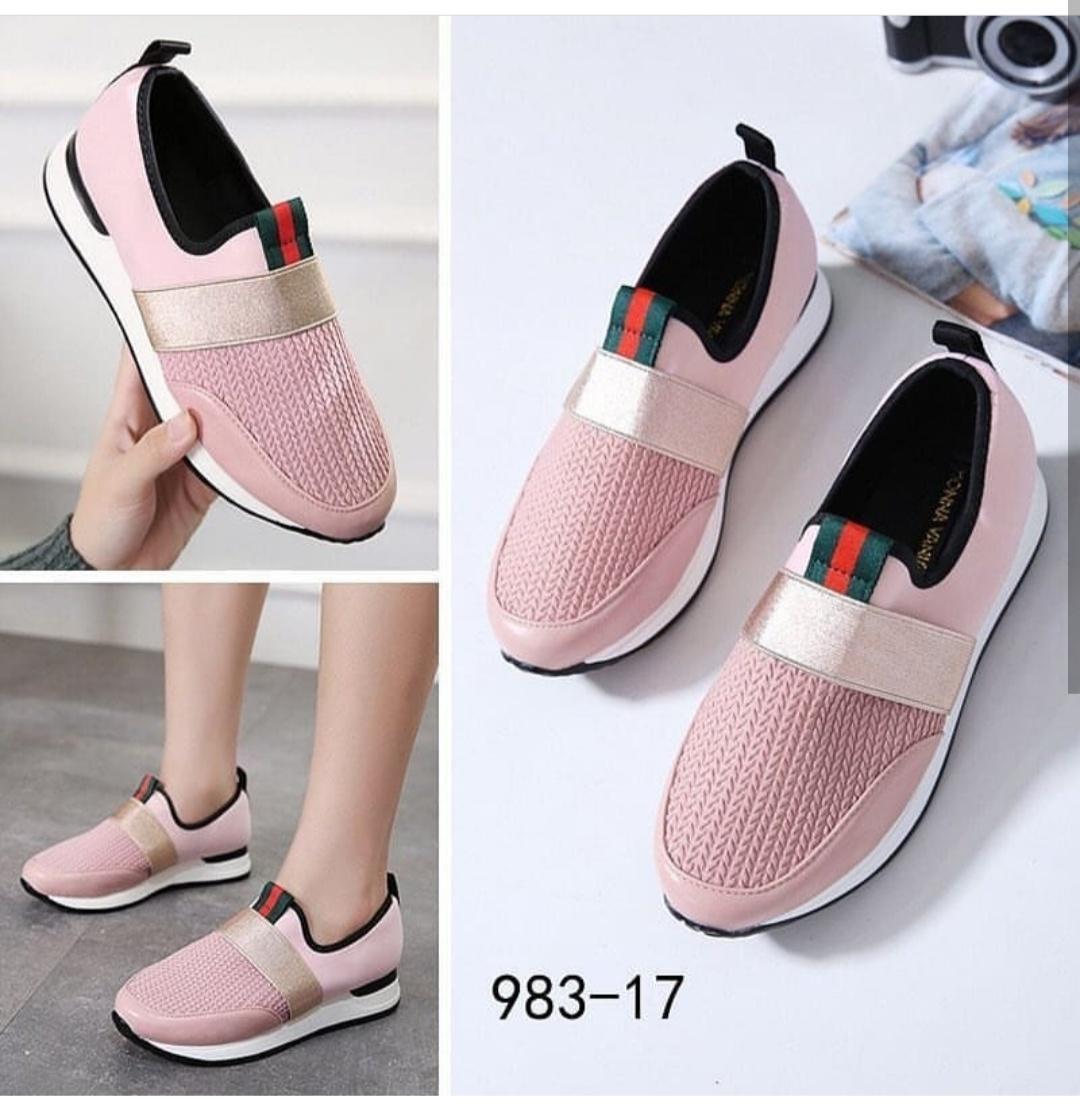 Kiss-Shop-Sepatu Wedges Trendi Lis Tengah Abe New Indonesia 49007b30e0