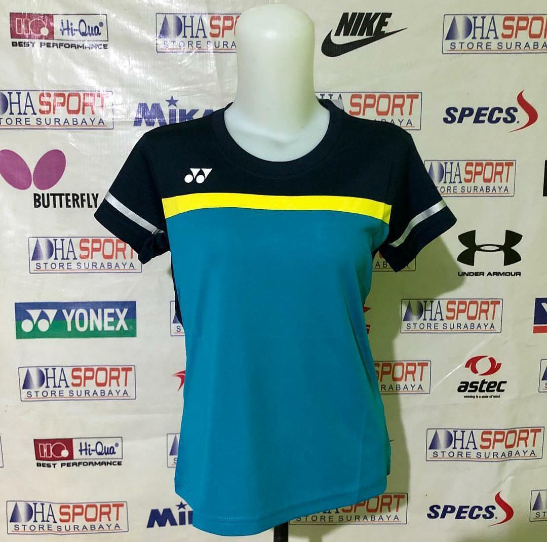Kaos Baju Badminton Y 1903b Ladies Jersey Bulutangkis Murah Promo Diskon Adha Sport By Perlengkapan Olahraga.