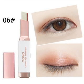 Novo Two Tone Color Eyeshadow Two Colors Ombre Eye Shadow Bar Stick thumbnail