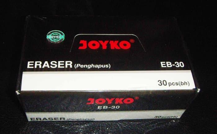 BEST SELLER Hapusan Joyko Hitam Besar EB-30W (1 pak 30 pcs) - fglaJiik