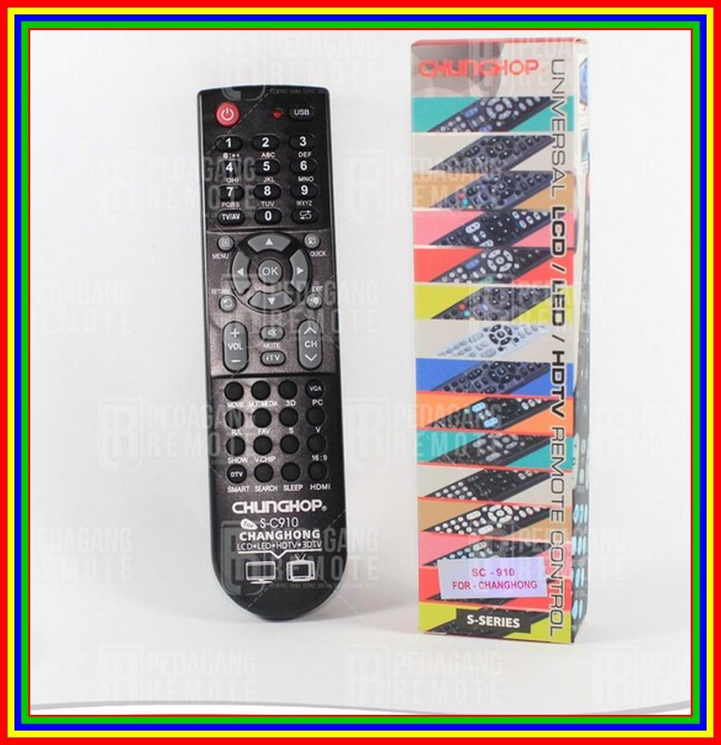 Remot/Remote TV LCD/LED Changhong Multi/Universal