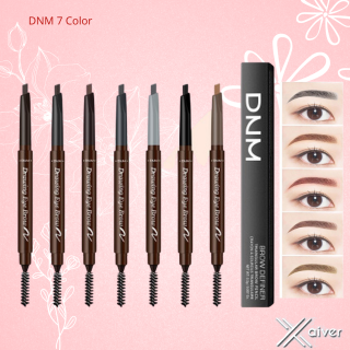 DNM 7 Color Automatic Eyebrow Pensil Alis Anti Air Pensil Alis Putar Drawing- Xaiver thumbnail