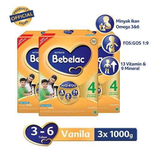 Value Pack Bebelac 4 Vanila 1000 G By Apotek Online Farmaku.