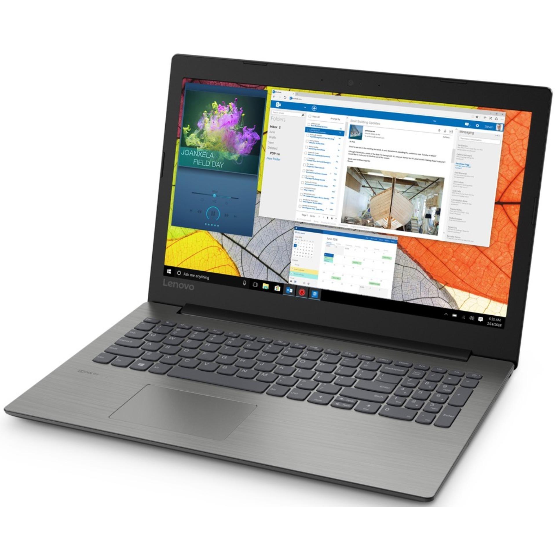 Lenovo Ideapad 330-15ICH-EDID Platinum (Intel Core i7-8750H - RAM 4GB DDR4+16GB Intel Optane - HDD 1TB - NVidia GTX1050 4GB - Windows 10 Home - 15.6