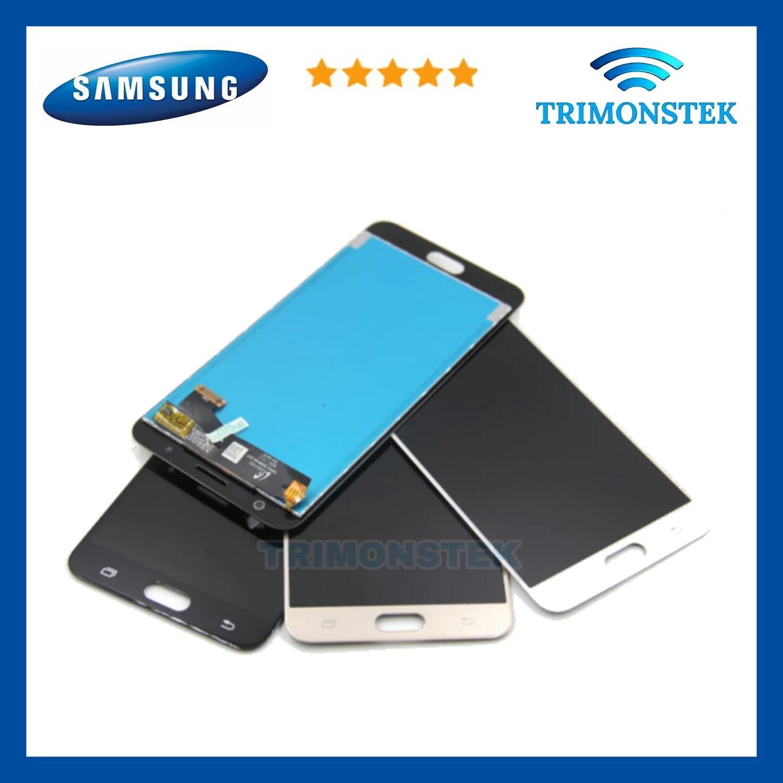 Lcd + Touchscreen Fullset Samsung J7 Prime G610 KONTRAS Original