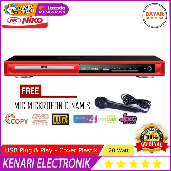NIKO NK-189 DVD FREE MIC Mp4 Player Optic : SAMSUNG