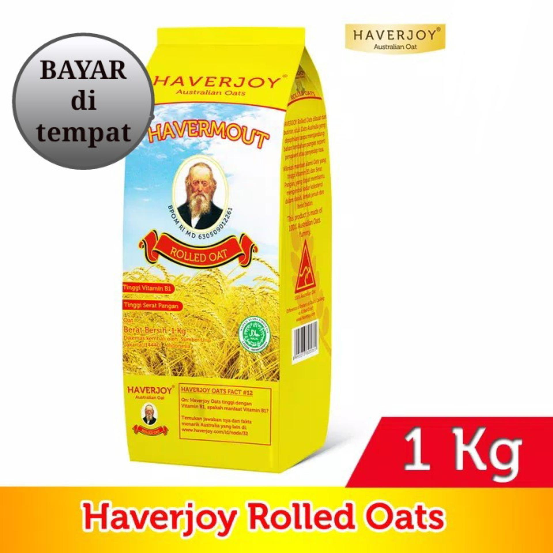 Haverjoy havermout Rolled oat 1000gr