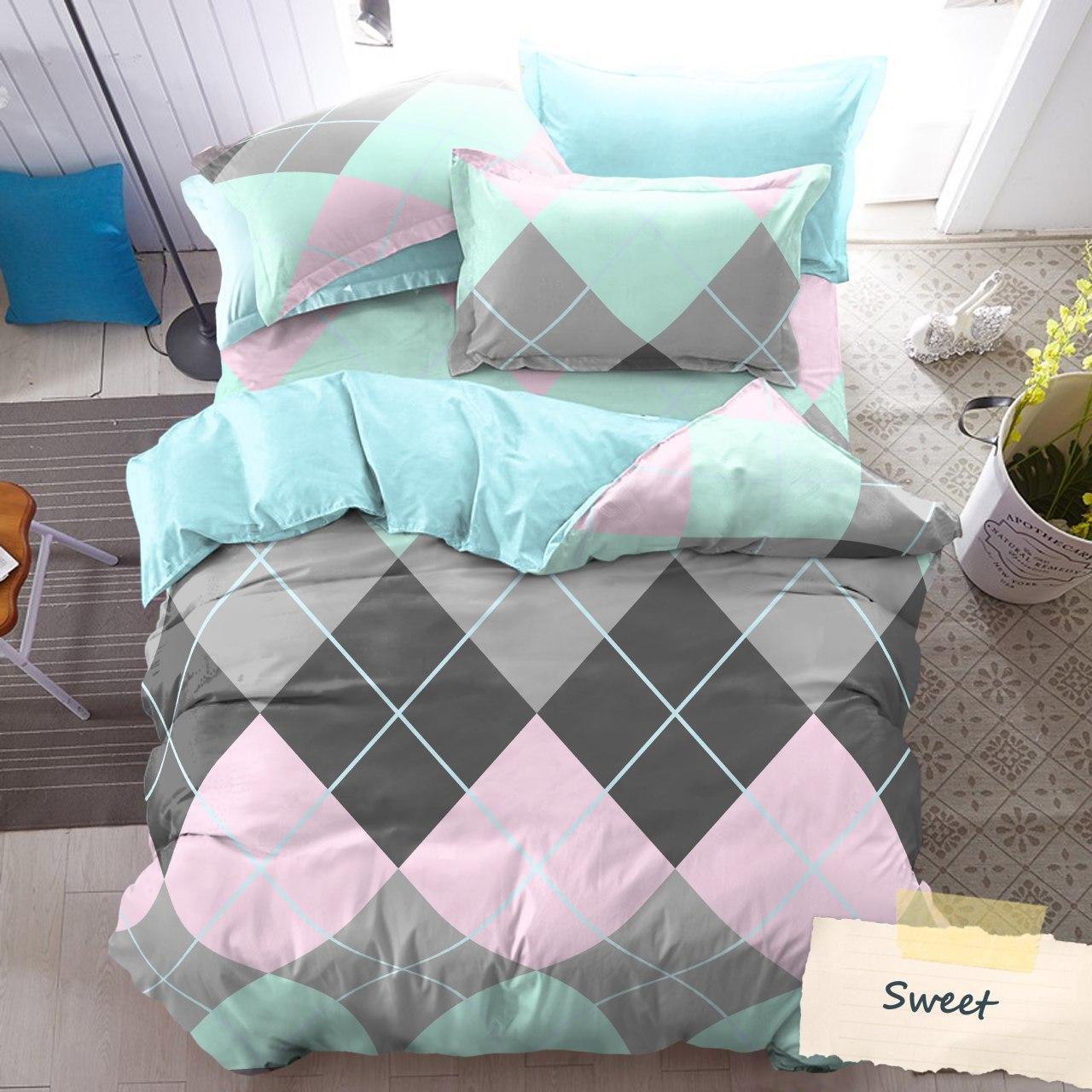 Kintakun Luxury - Bed Cover terbaru Set King Size 180x200x30 Motif Sweet