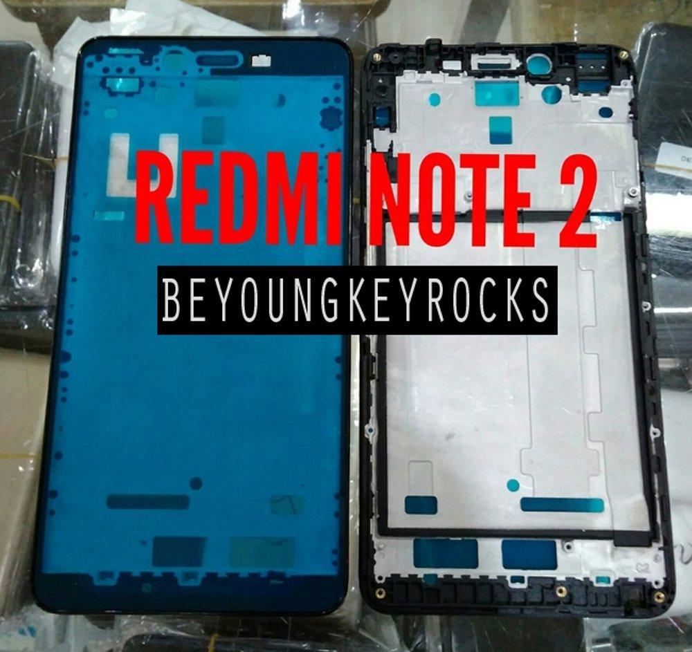 Frame Bezel Casing LCD Xiaomi Redmi Note 2 Original