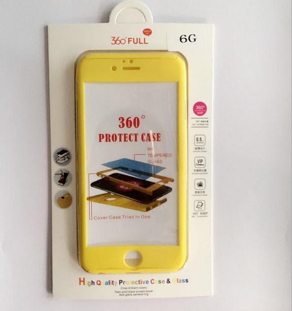 Casing HP Premium Protect Case Yellow Iphone 5/5s/SE/6/6s