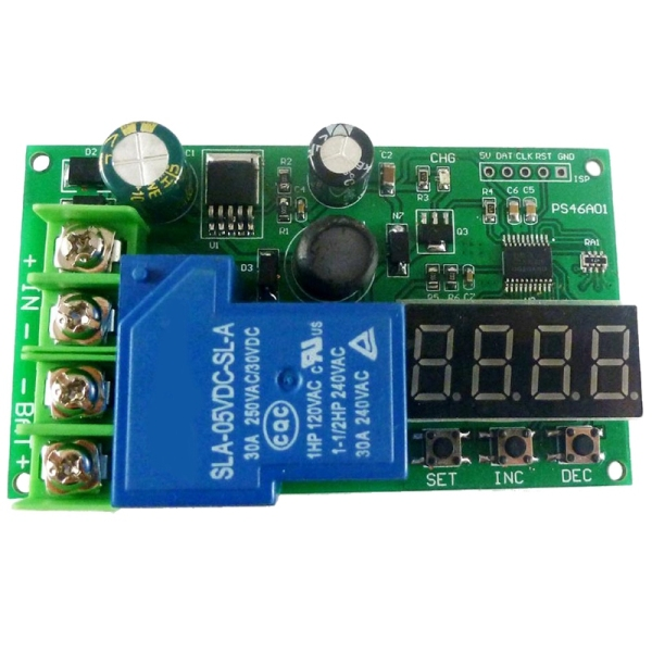 0-30A 7.4V 12V 14.8V 24V 48V Lead-Acid Ni-Cd Ni-MH Li-ION Li-PO Lithium Battery Charging Protection Board Module