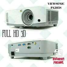 Proyektor Viewsonic PA503S I System DLP I Full HD 3D | FREE Asuransi Paket