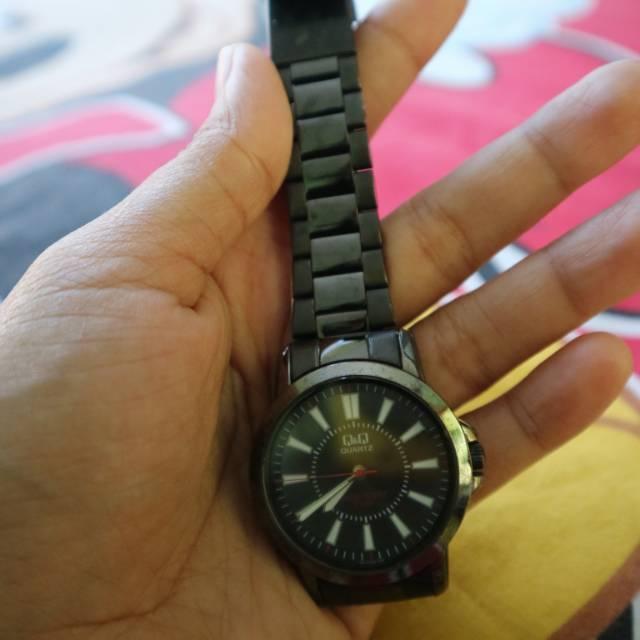 Preloved jam tangan Q&Q ori