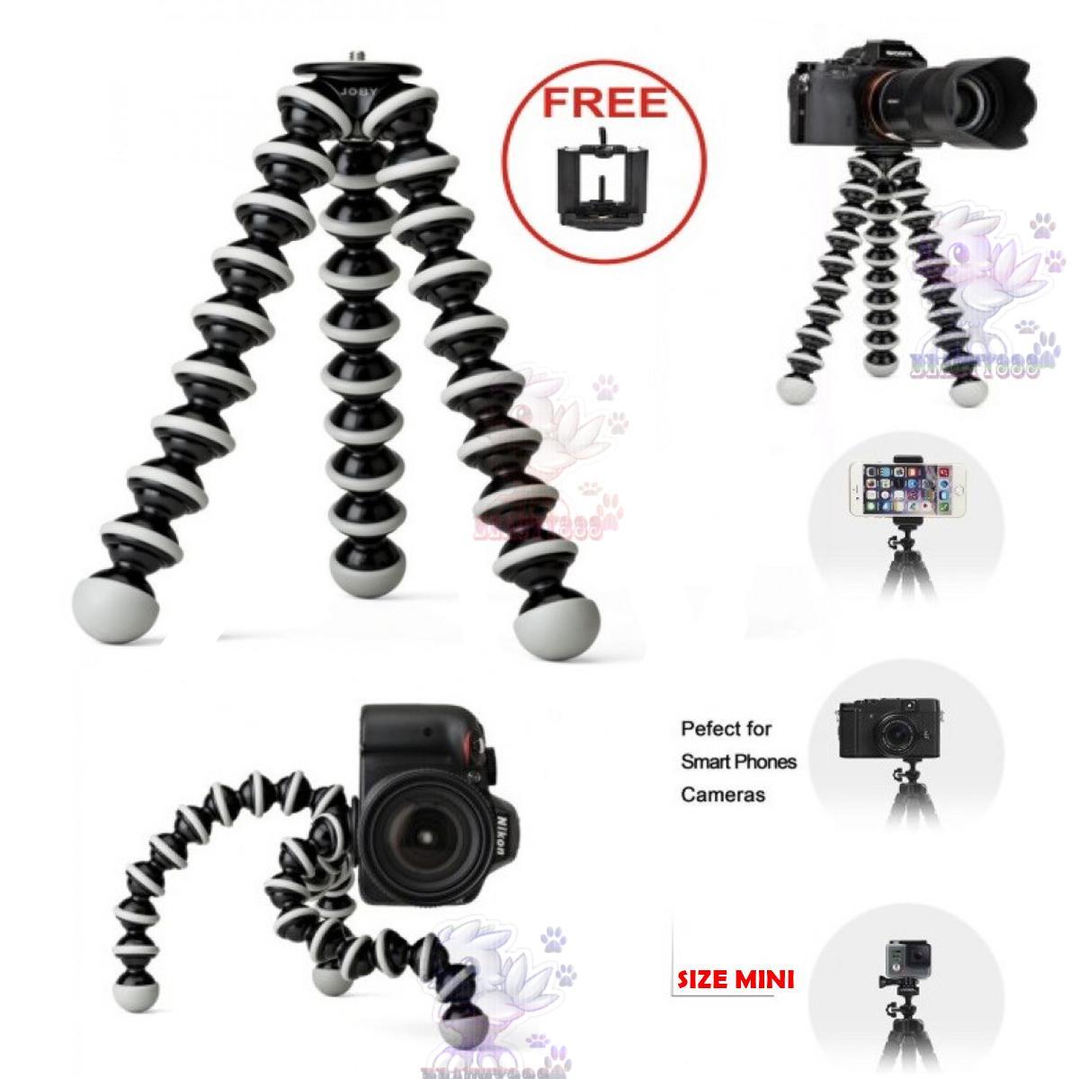 Tripod Gorila Gorillapod Gorilla Flexible For Camera & Smartphone With HOLDER U / Universal Tripod Mini