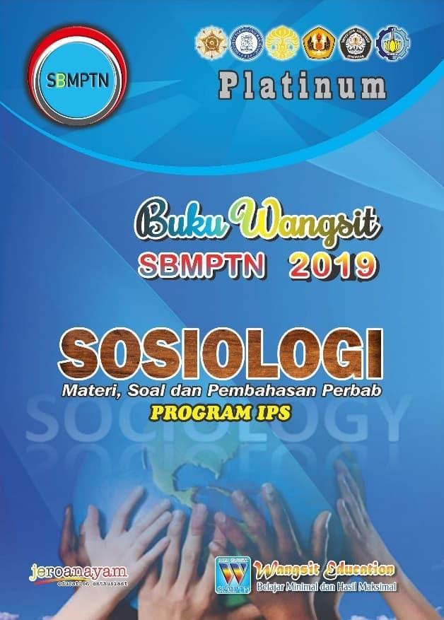 [VIP] Buku Wangsit SBMPTN 2019 SOSIOLOGI Platinum