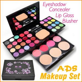 ADS Makeup Pallete Eyeshadow Pallette Palette Palet Make Up Set Make Up Kit Makeup Kit - 1 Buah thumbnail