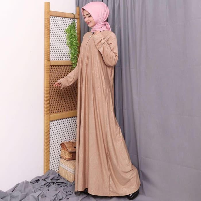 Gamis Polos Gamis Busui Gamis Jersey Emboss By Sahara Hijab.