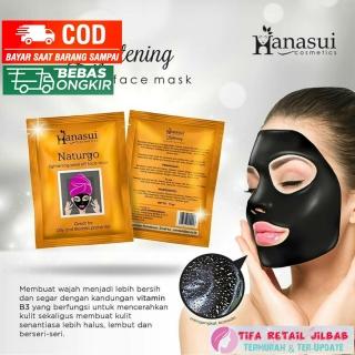 Hanasui Lightening Peel Off Face Mask thumbnail