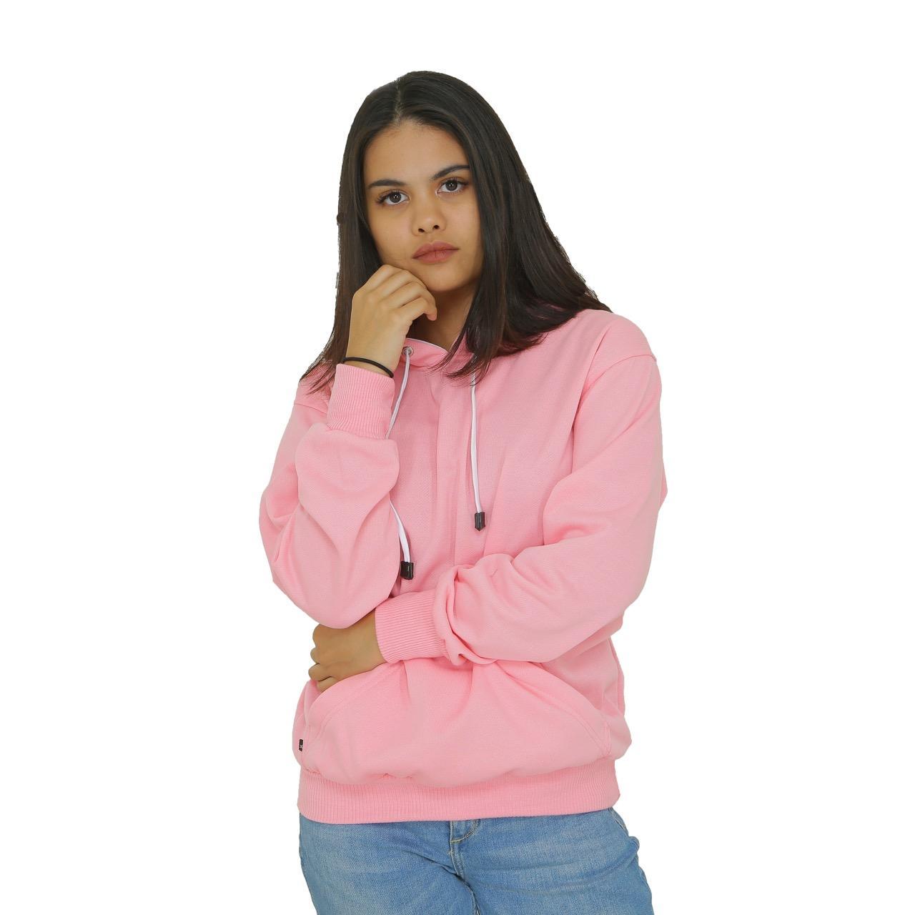 4417bdb49 Jaket Sweater Polos Hoodie Jumper Baby Pink - Premium Quality