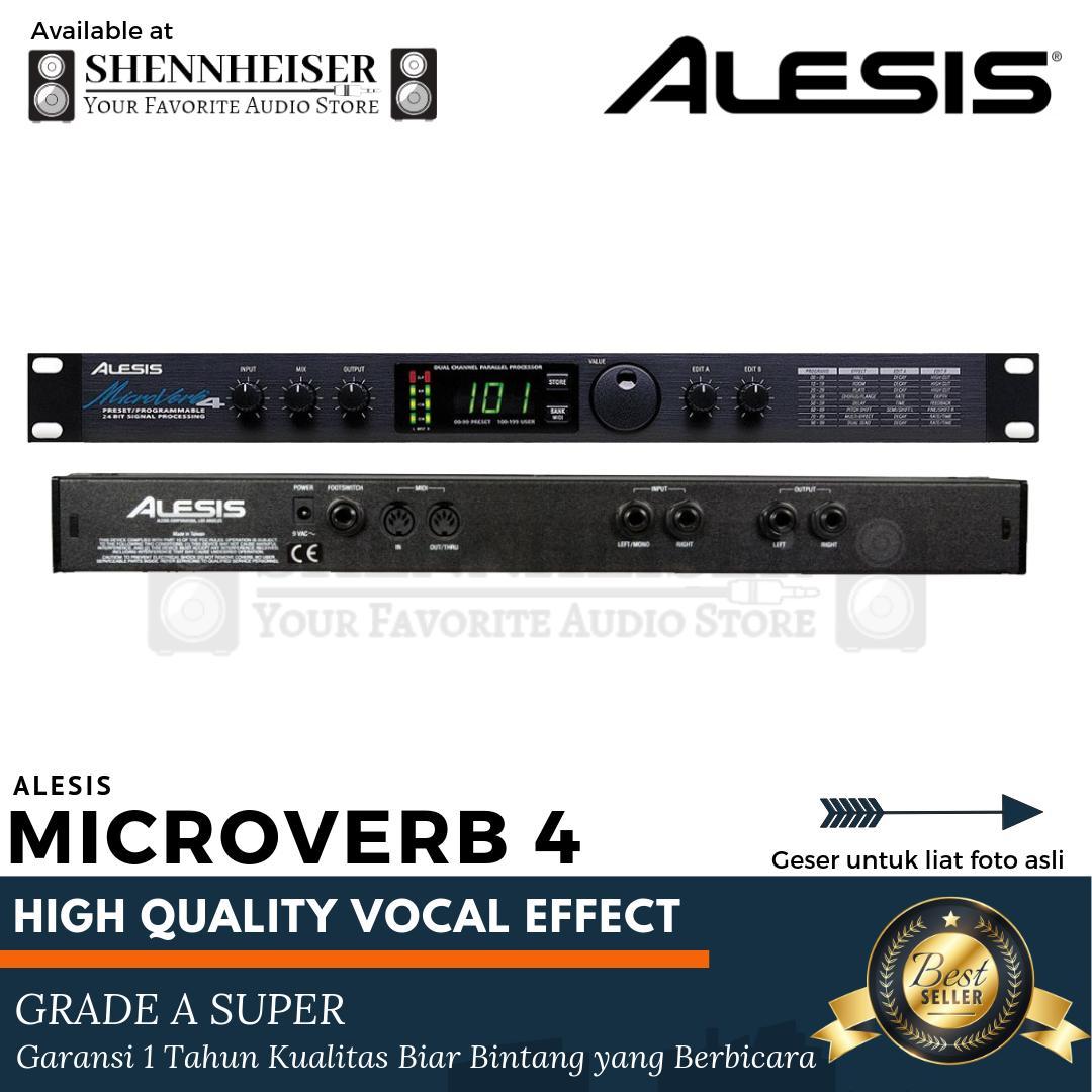 Promo Effect Vocal Alesis Microverb 4 Efek Vokal Alesis Microverb 4 Bergaransi