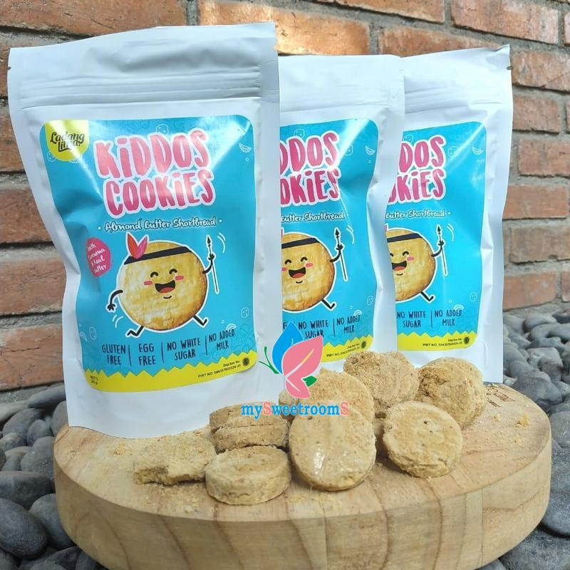 Mys- Ladang Lima Kiddos Cookies Almond Butter Shortbread By Mysweetrooms.