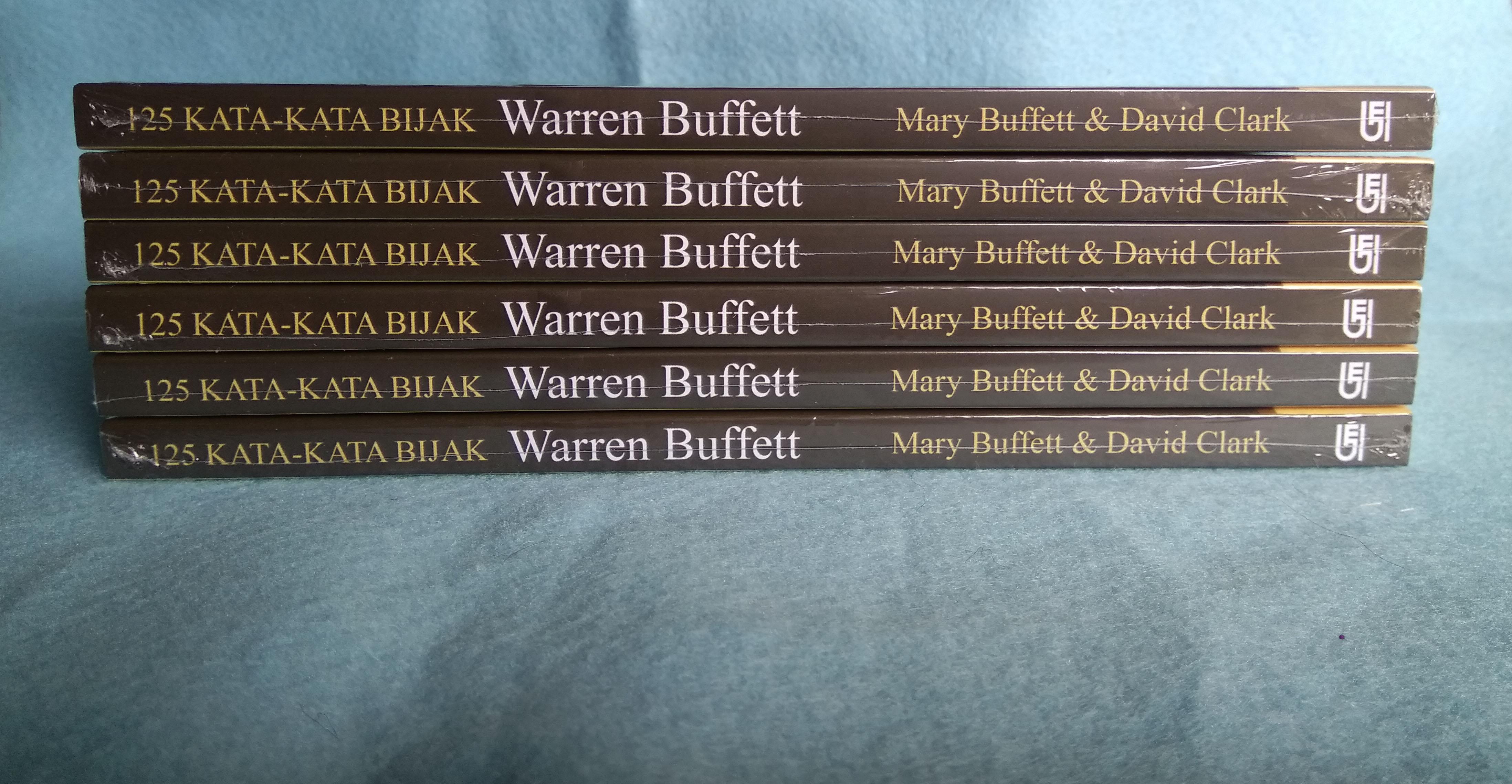 125 Kata Kata Bijak Warren Buffett Untuk Menjadi Kaya Dan Tetap Kaya Mary Buffett David Clark Lazada Indonesia
