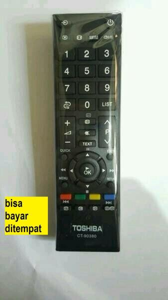 REMOTE CONTROL Remote TV TIVI Toshiba Tosiba Original Asli Lcd Led_SalmanCell
