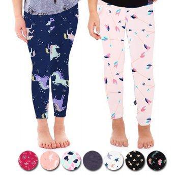 2pcs Legging Motif Anak Perempuan Kaos Warna Random Untuk 1 2 3 4 5 6 7 Tahun Sale Lazada Indonesia