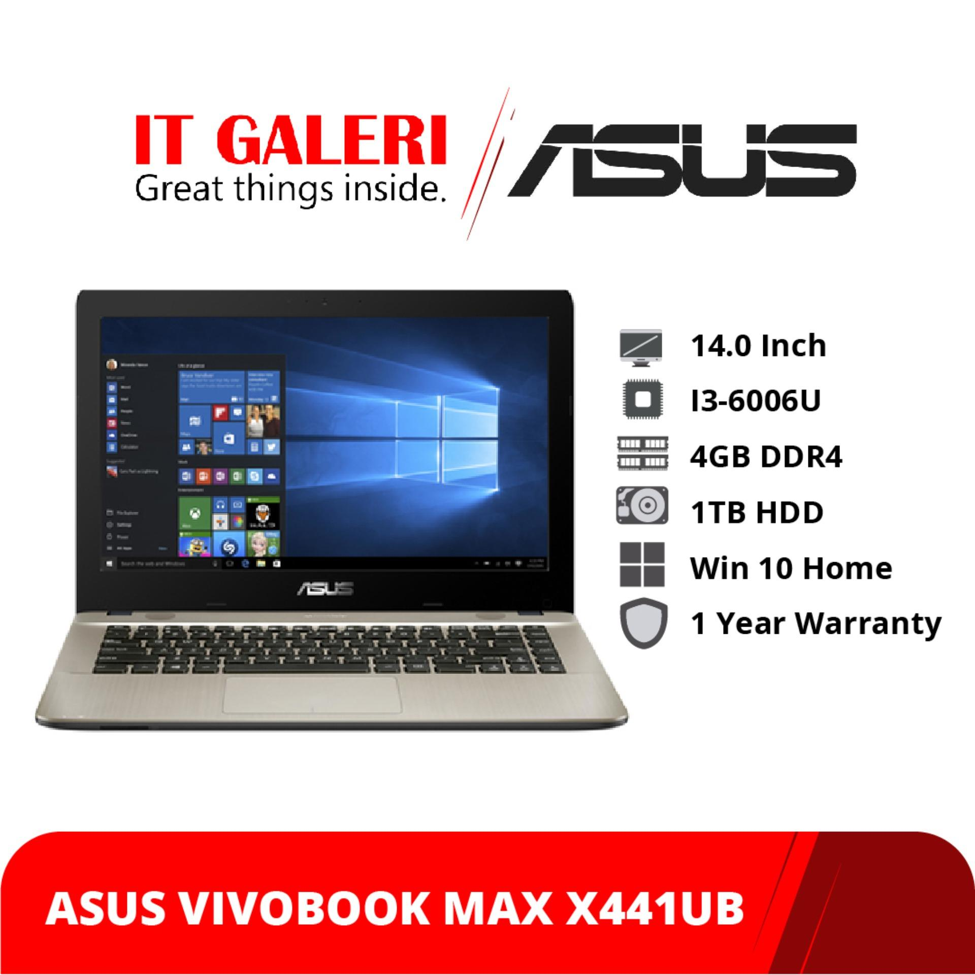 Asus VivoBook Max X441UB-GA042T - Ci3-6006U - 4GB - 1TB - MX110 - 14