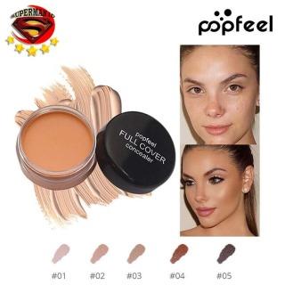 SUPERMAN_ID - Popfeel Full Cover Concealer - Concealer Cream Waterproof Stay Matte 24 Hours - 5 Variasi Warna thumbnail