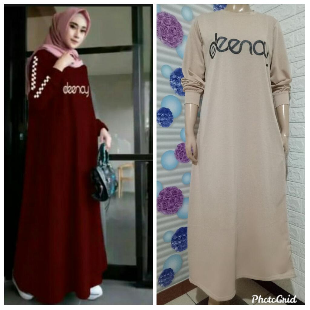 Gamis Deenay Bahan Babytery Membeli Jualan Online Baju Muslim Jumpsuit Dengan Harga Murah Lazada Indonesia