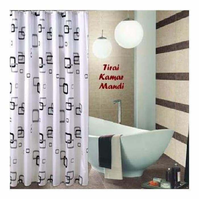 Eigia Tirai Kamar Mandi Aneka Motif Anti Air Shower Curtain Bathroom Accessories Aneka Motif Cantik Unik Waterproof Gorden Horden Hordeng Gordeng Gantung Dekorasi By Eigia.