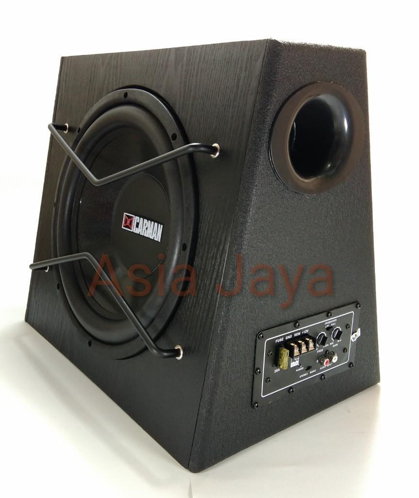Asia Jaya Subwoofer Aktif Mobil 12 Inch Bassbox CARMAN CM-1211 / Carman CM 1211