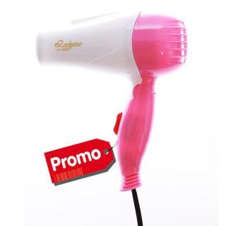 PROMO Hairdryer Travel Hair Dryer Type 658 - Silver thumbnail