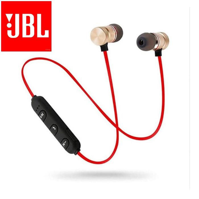 J.B.L. Wireles sports cable Bluetooth 4.2 handsfree magnetic Earphone Build-in Mic