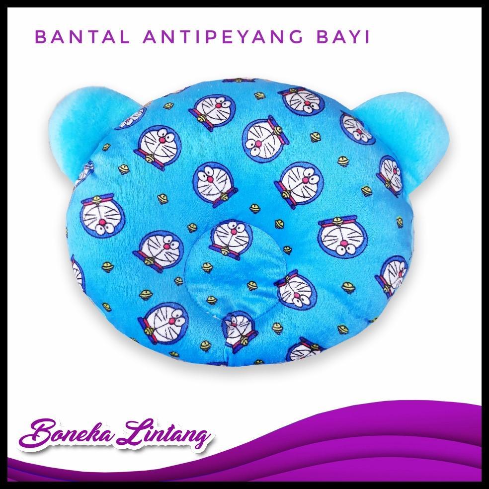 Bantal Bayi Antipeyang Bulat Kuping Bahan Yelvo By Boneka Lintang.