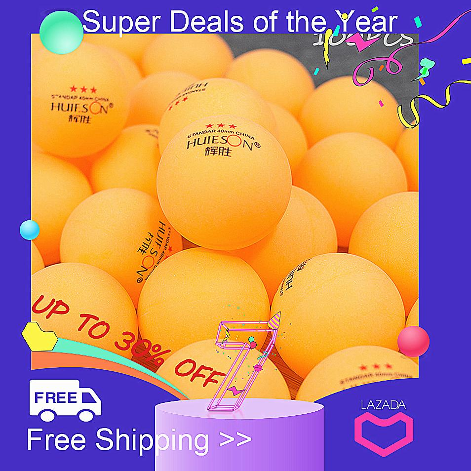 【Free Shipping + Super Deal + Limited Offer】100pcs 3-Star 40mm Olympic Table Tennis Ball Pingpong Balls