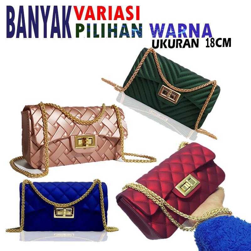 4c62f45915d galery shop-tas wanita jelly mini bag BISA BAYAR DITEMPAT tas fashion  wanita-tas