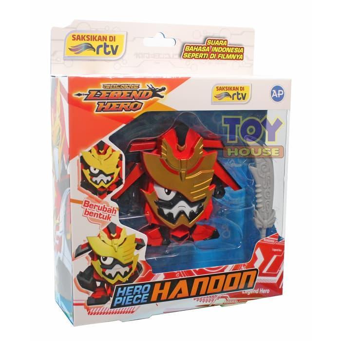 PROMO / HOT SALE / Robot Legend Hero Piece Ganwu Handon Tejha Bisa Berubah Bentuk 301000