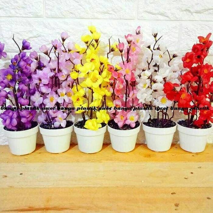 Rp 61.100. BEST SELLER Bunga sakura bunga plastik artificial palsu dekorasi bunga  shabby chic - ZgSeljSmIDR61100 c01832cd57