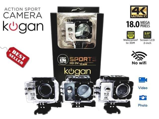 camera 4K sport ultra HD DV kogan NON WIFI/kamera action sport