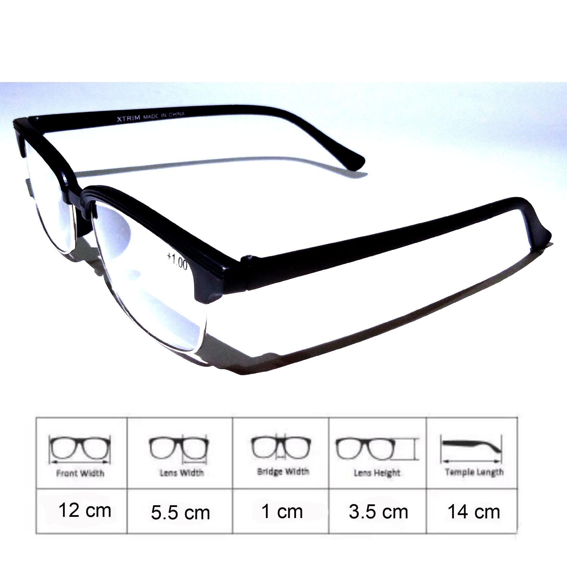 RAKA eyewear - Kacamata Baca Plus (+) Korean Style Kacamata Baca Fashion  untuk Pria 8f8c611125