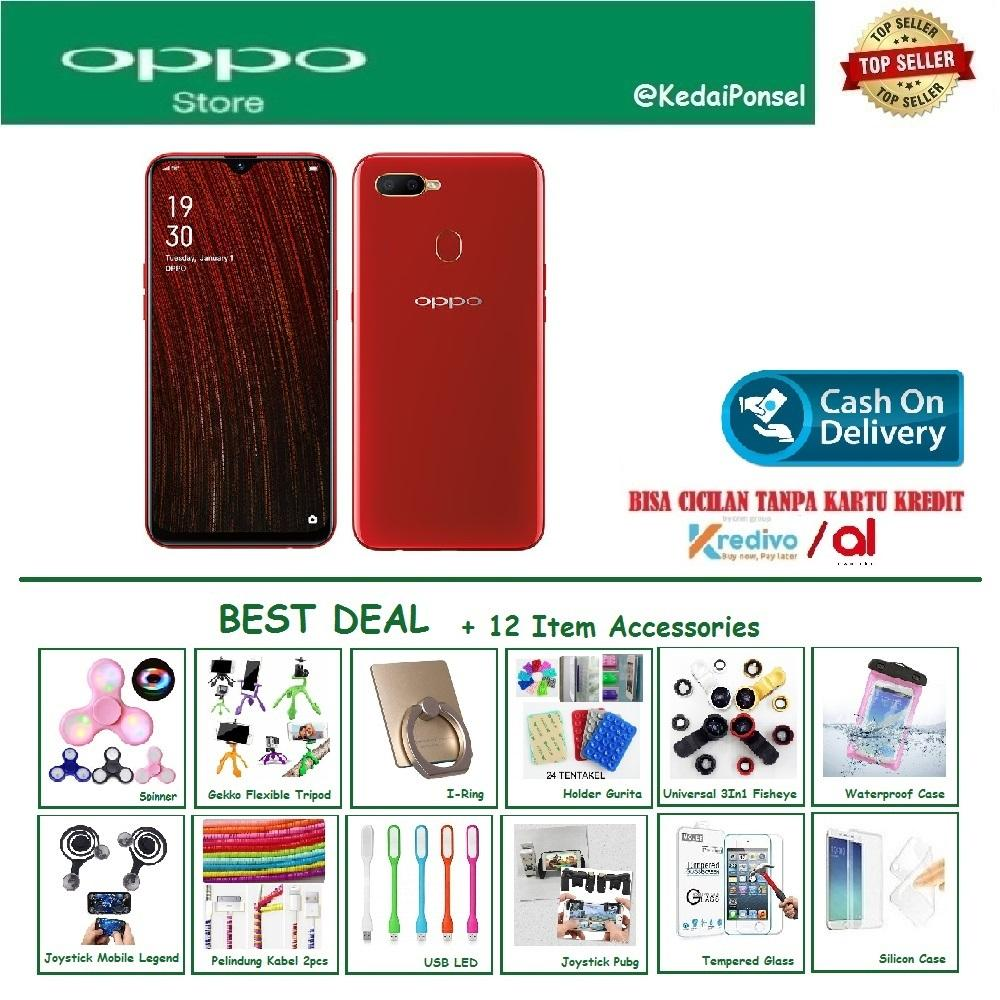 OPPO A5S [3/32GB] - Best Deal +12 Item Accessories